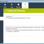 external scanner