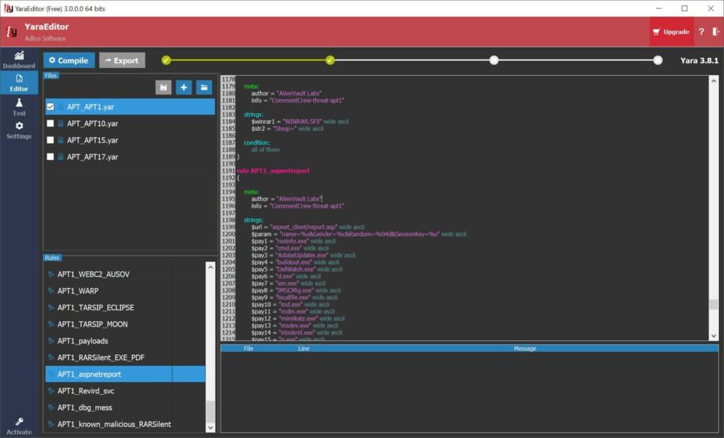 Editor - Adlice Software