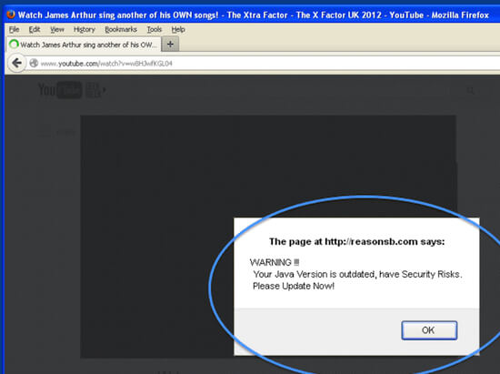malware definition: fake plugin