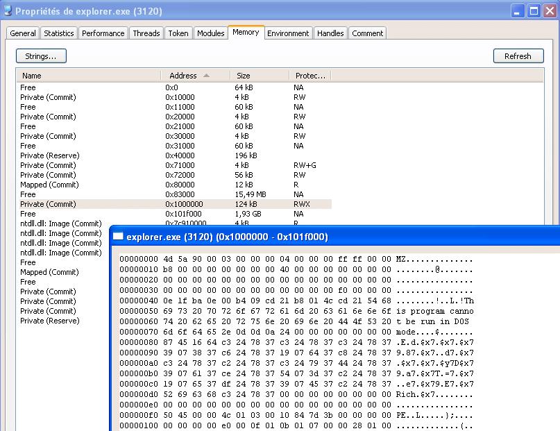 After calc.exe code is written