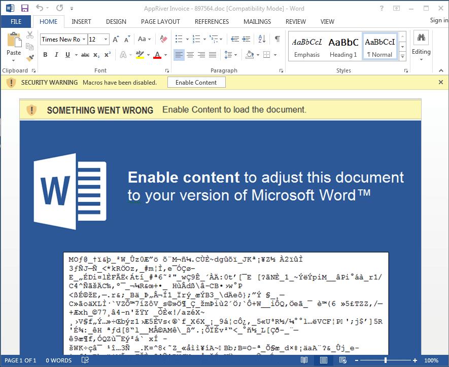 word macro enabled template