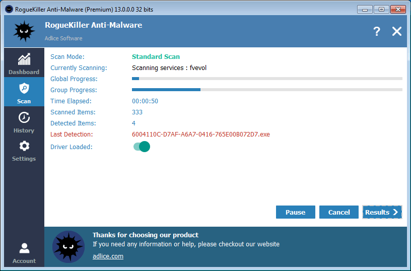 Roguekiller Anti Malware Free Download Official Website